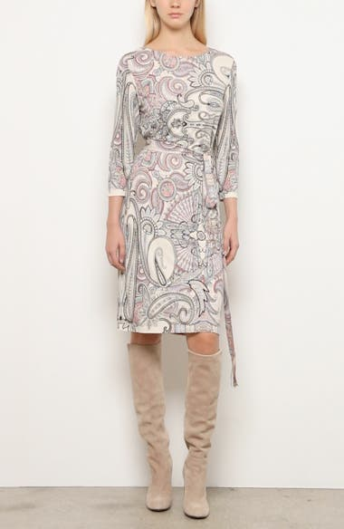 Paisley Print Jersey Dress, video thumbnail