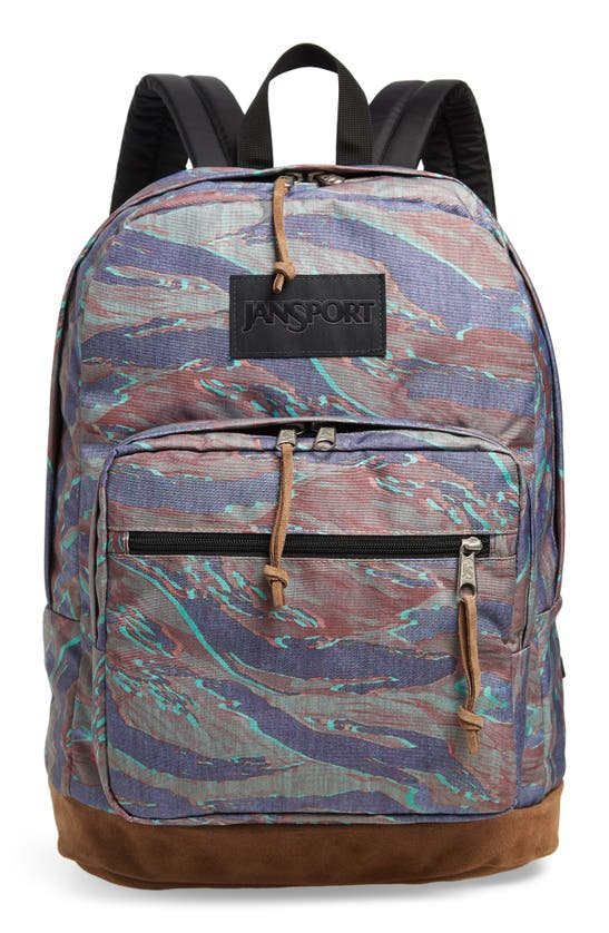Jansport Right Pack Ls 15-inch Laptop Backpack In Tiger Camo