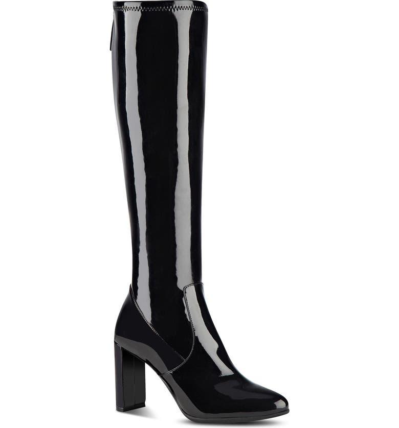 NINE WEST 'Kellan' Stretch Boot, Main, color, 001
