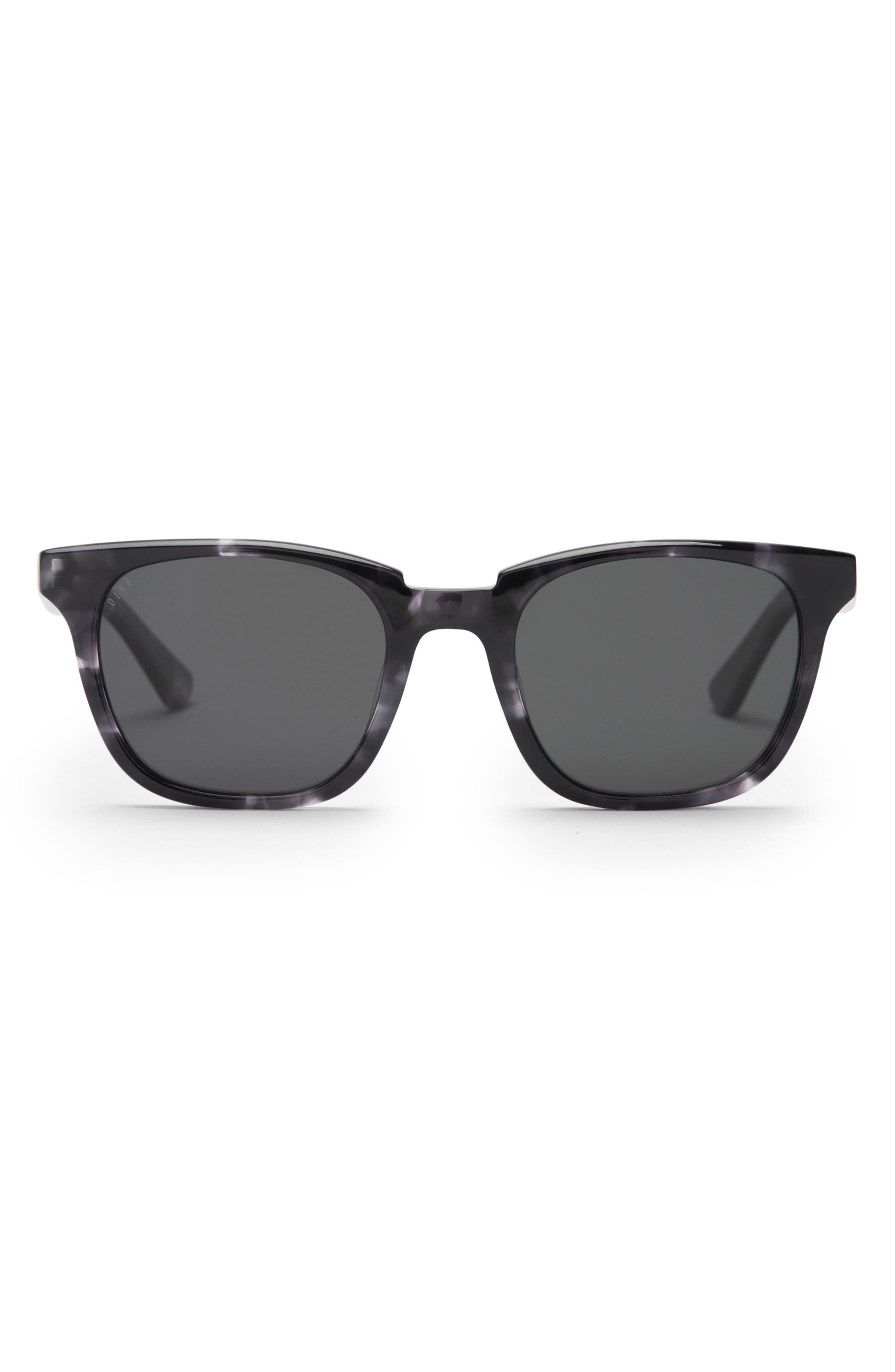 Colton 50mm Polarized Square Sunglasses