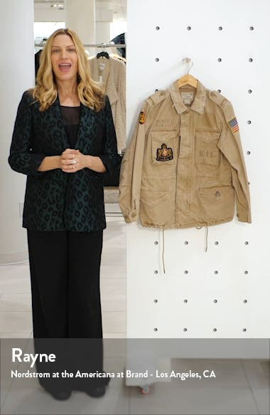 Military Patch Jacket, sales video thumbnail
