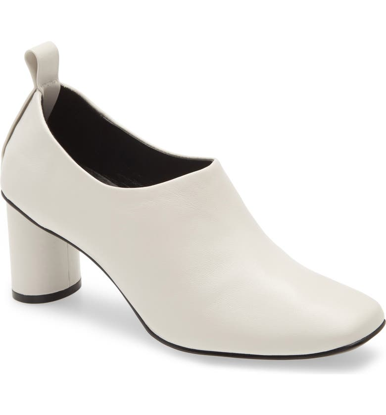 JEFFREY CAMPBELL Bootie, Main, color, OFF WHITE LEATHER
