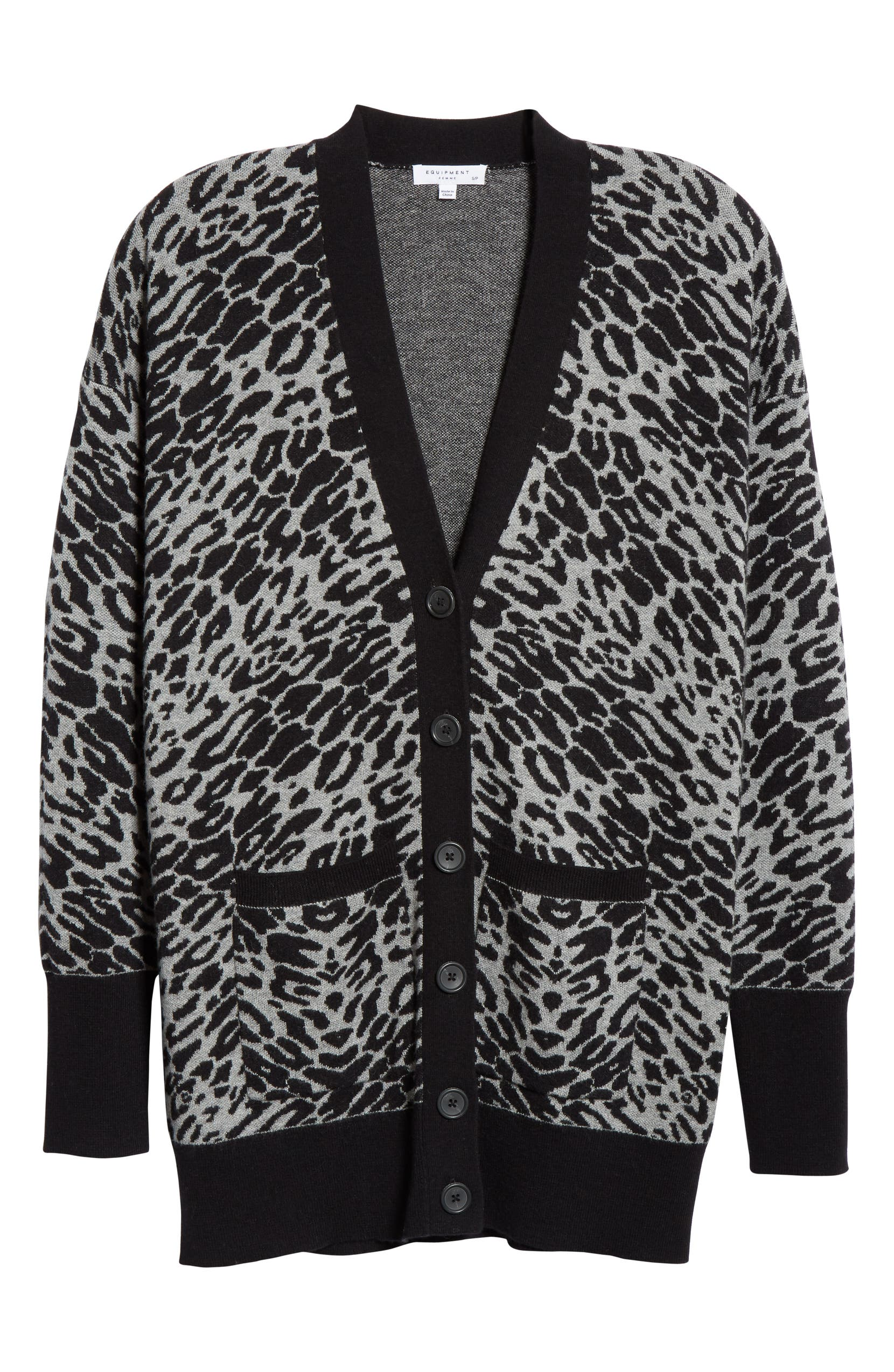 34fe6e9ad2ed Equipment Fenwick Animal Print Sweater | Nordstrom