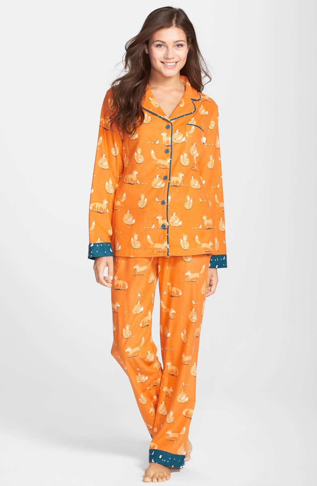 ,                             Flannel Pajamas,                             Main thumbnail 103, color,                             810
