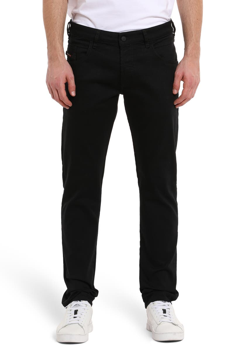 DIESEL<SUP>®</SUP> D-Bazer Slim Fit Jeans, Main, color, STAY BLACK