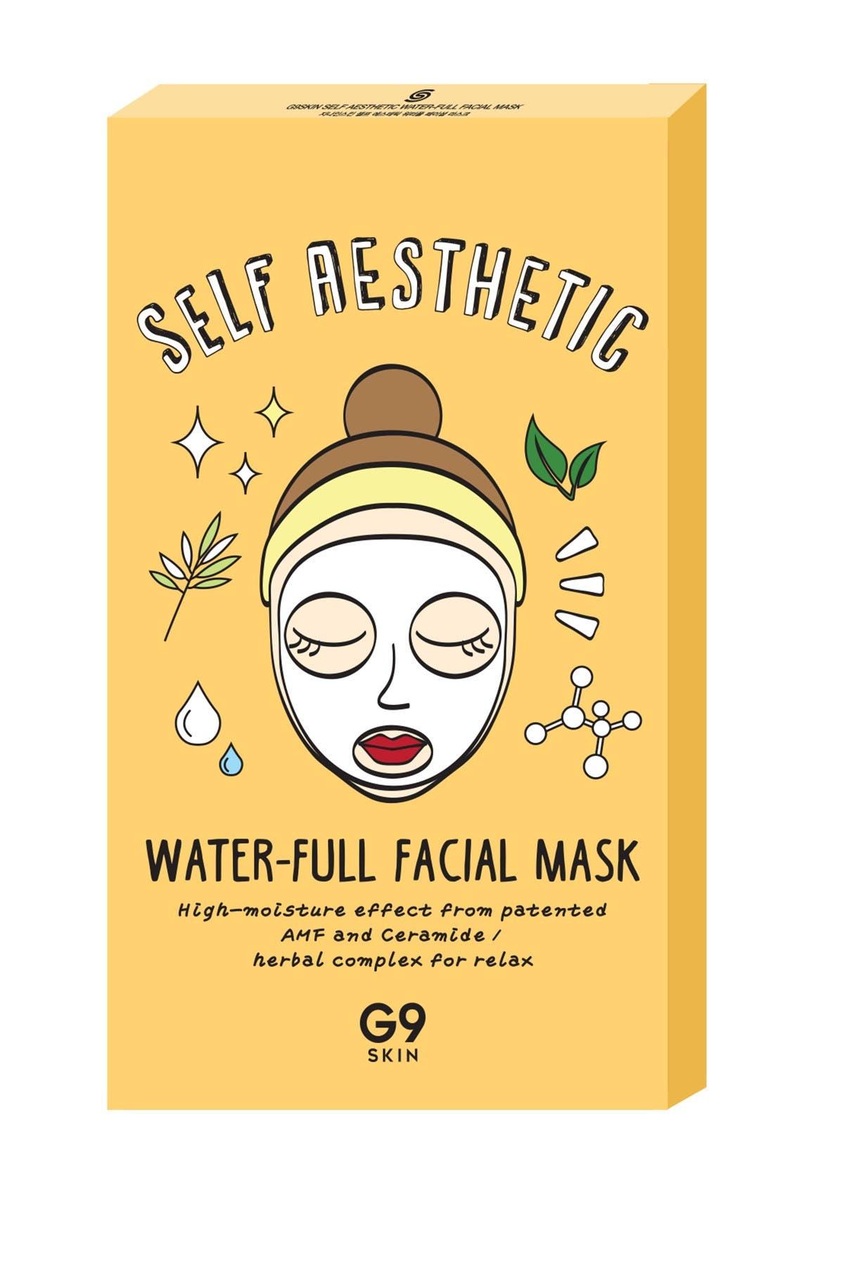 Image of G9SKIN Self Aesthetic Water-Full Facial Mask - Set of 5