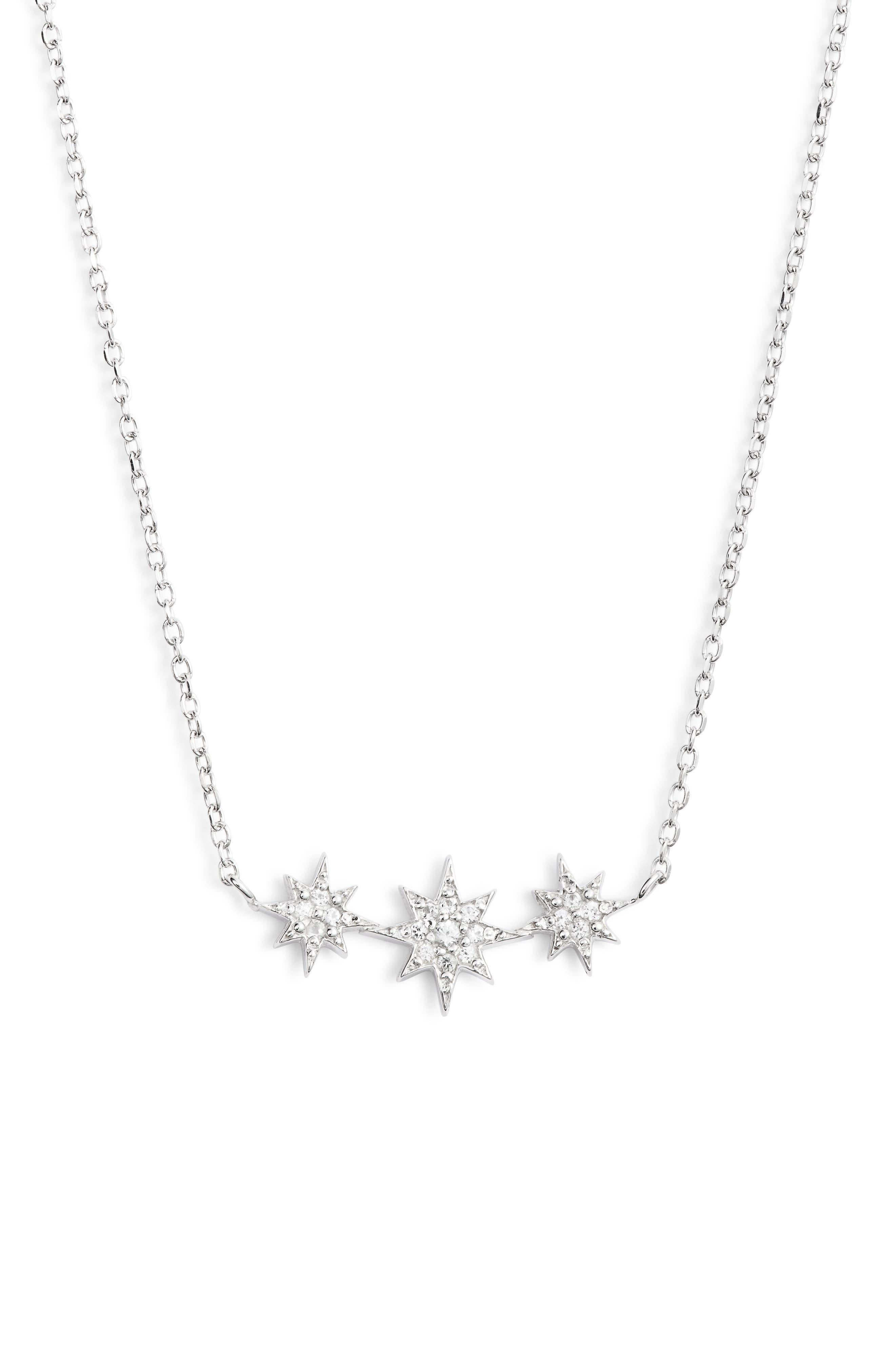 North Star Micro Starburst Necklace