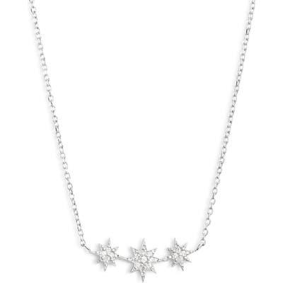 Anzie North Star Micro Starburst Necklace