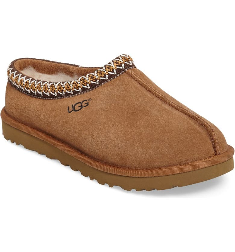 UGG<SUP>®</SUP> 'Tasman' Slipper, Main, color, CHESTNUT