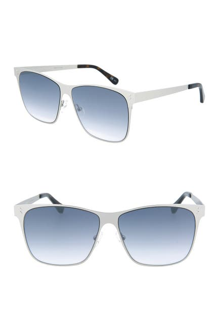 Image of Stella McCartney 57mm Square Sunglasses