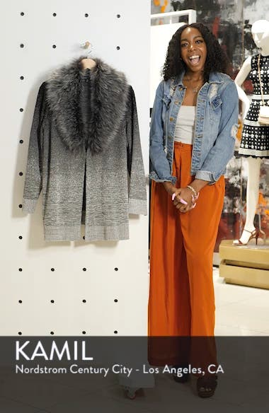 Faux Fur Collar Jacket, sales video thumbnail