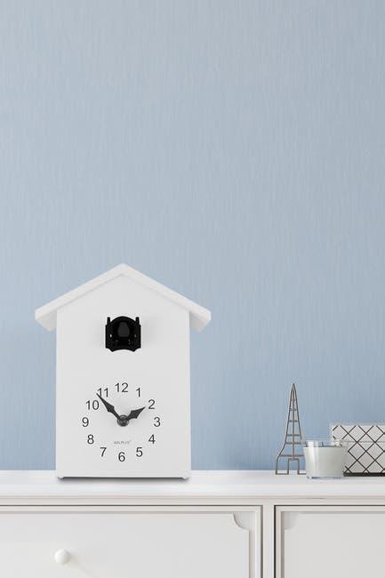 Image of WalPlus Black/White Minimalist Cuckoo Clock