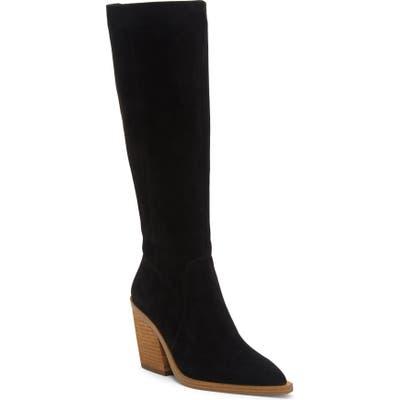 Vince Camuto Gravana Knee High Boot- Black