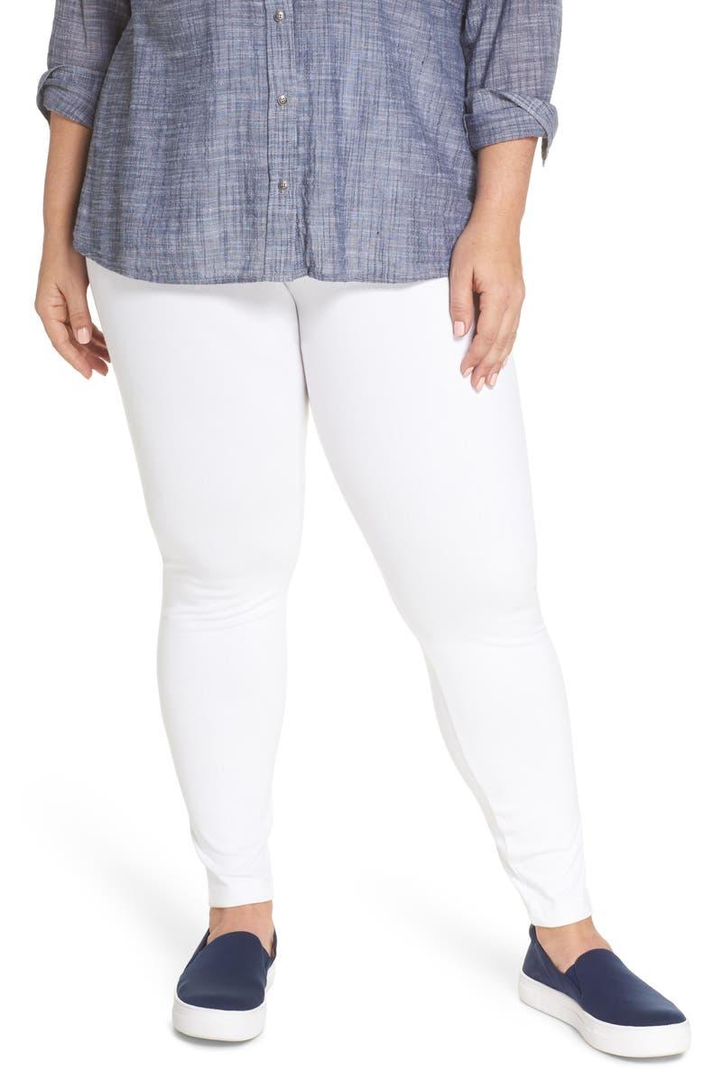 LYSSÉ High Rise Stretch Denim Leggings, Main, color, 100