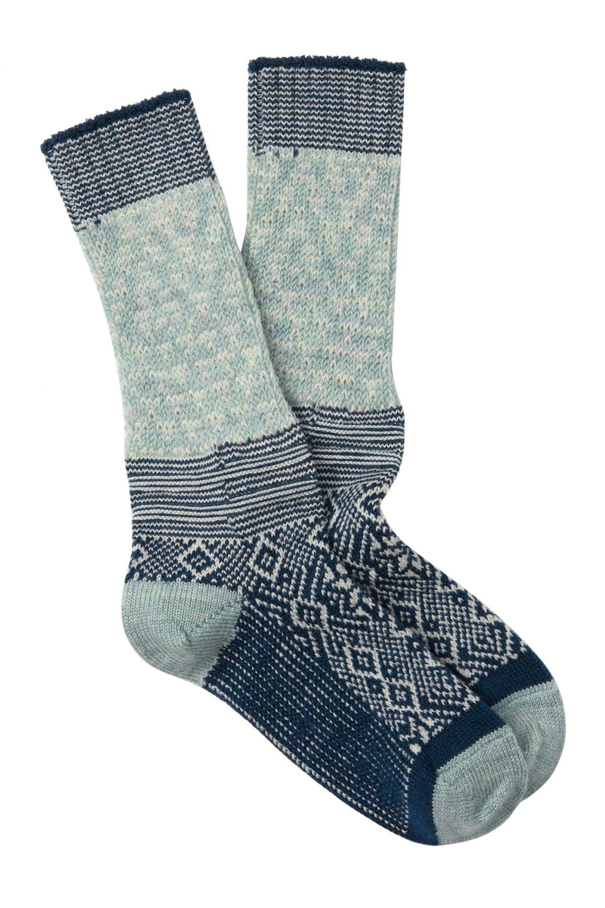Image of SmartWool Snowflake Flurry Crew Socks