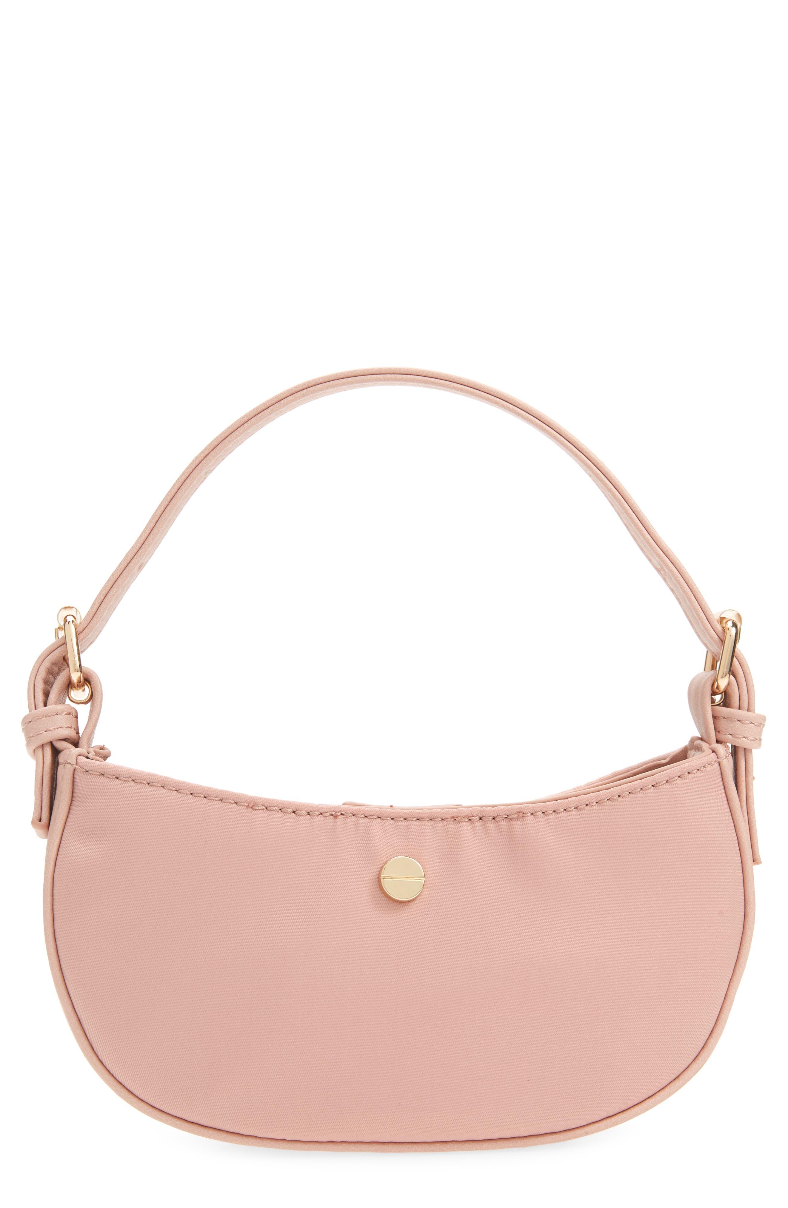 Mali + Lili Mini Nylon Baguette Bag