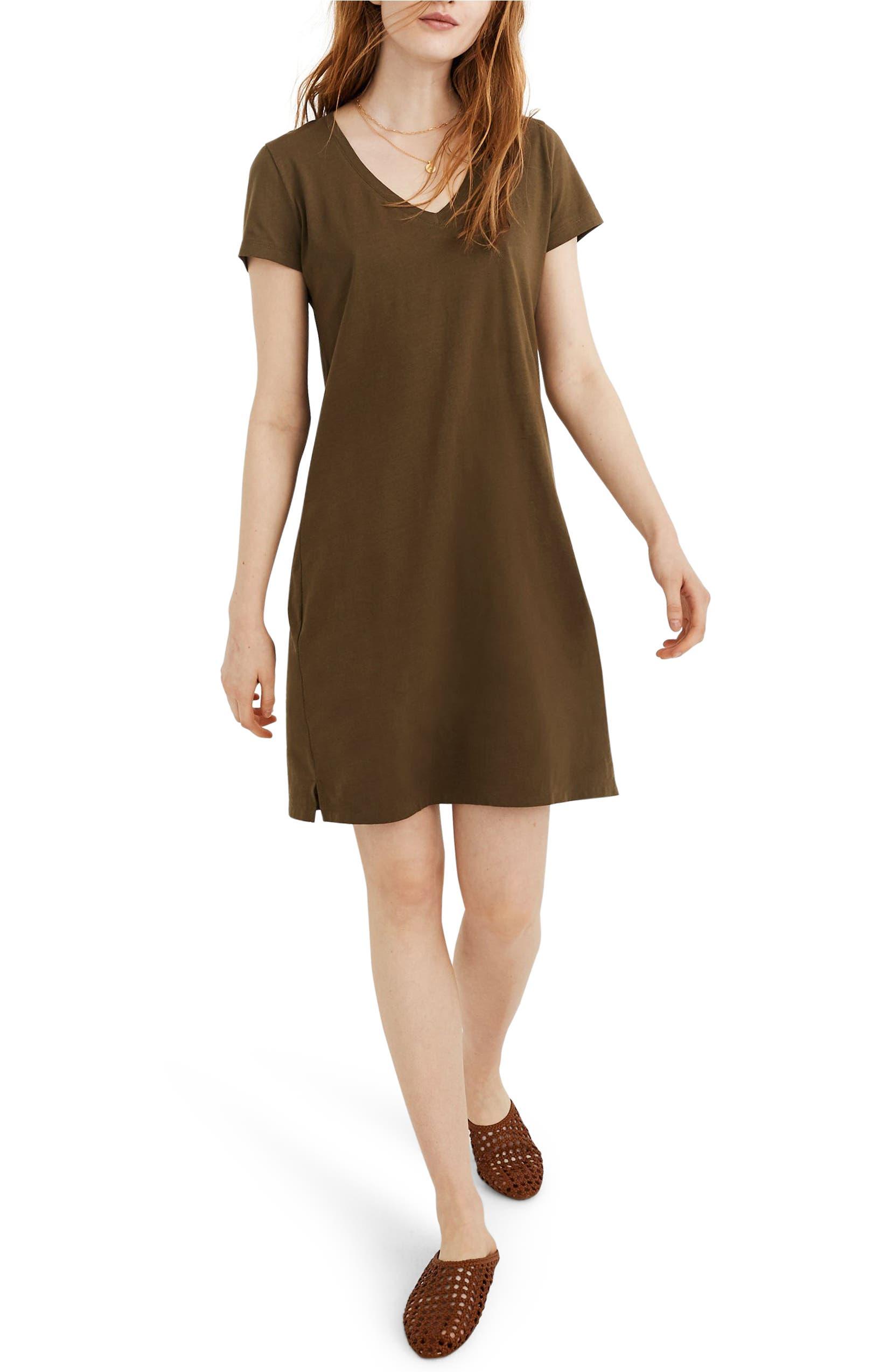 Northside V-Neck T-Shirt Dress
