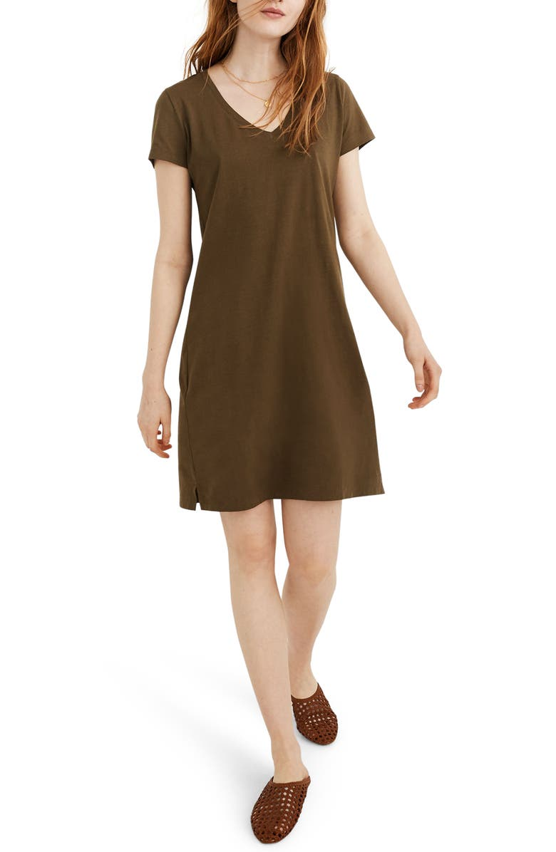 Northside V-Neck T-Shirt Dress