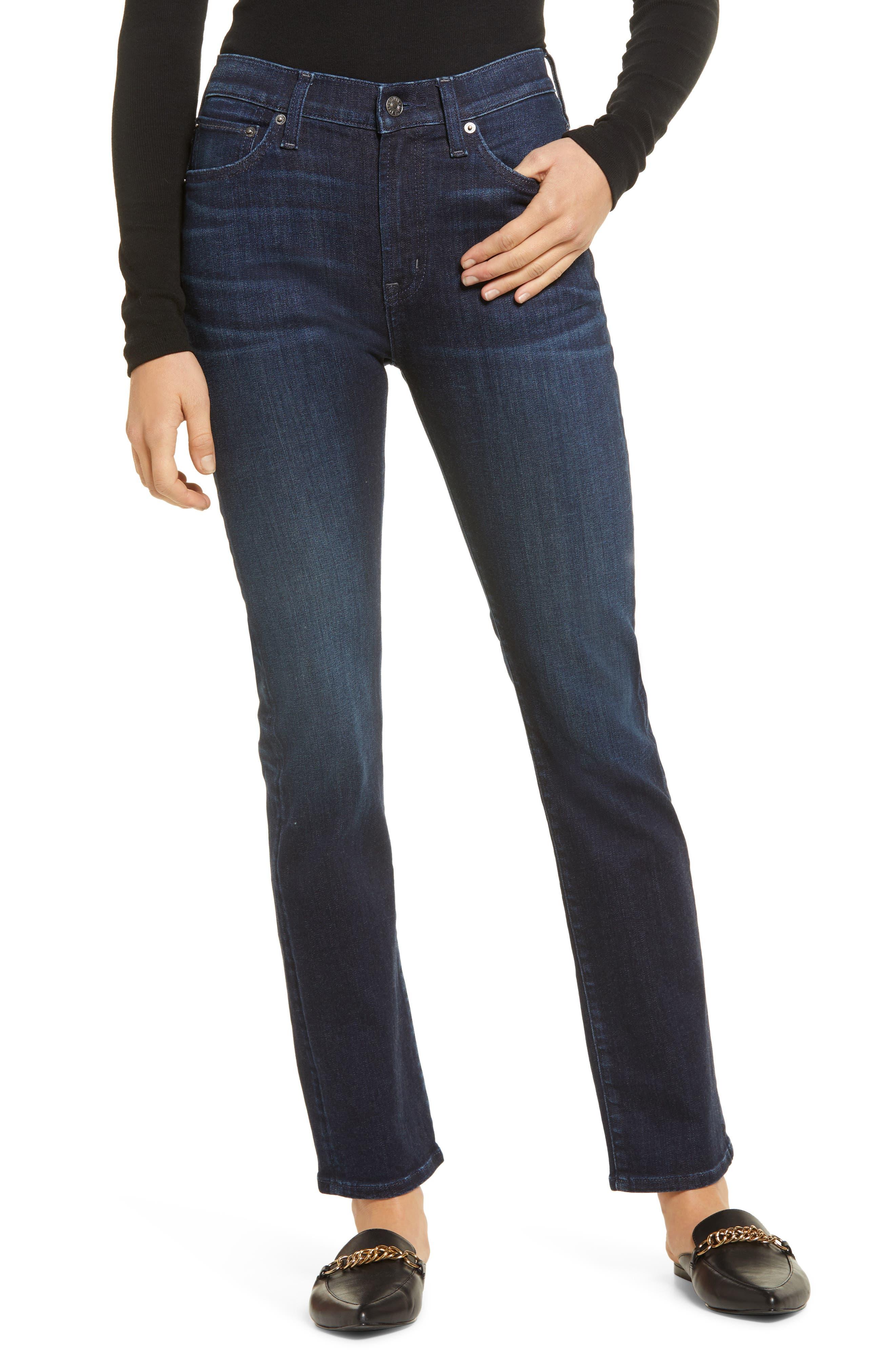 Elin High Waist Slim Jeans