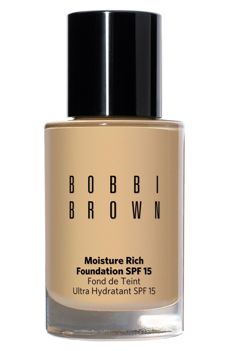 BOBBI BROWN Moisture Rich Foundation SPF 15, Main, color, 256
