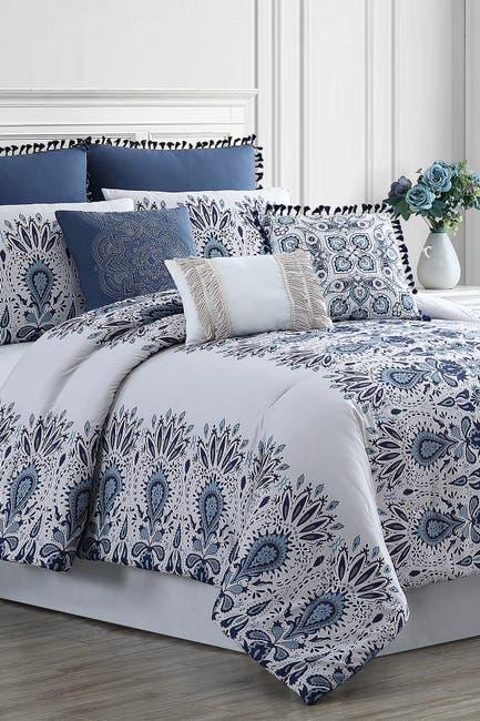 Image of Modern Threads 8-Piece Embellished Comforter Set - Karina - Queen