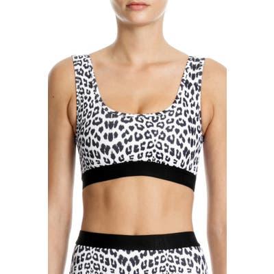 Beth Richards Kim Bikini Top, Grey