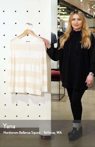 Boat Neck Stripe Sweater, sales video thumbnail
