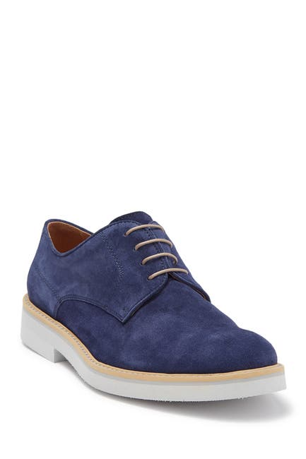 Image of Bugatchi Suede Derby Shoe