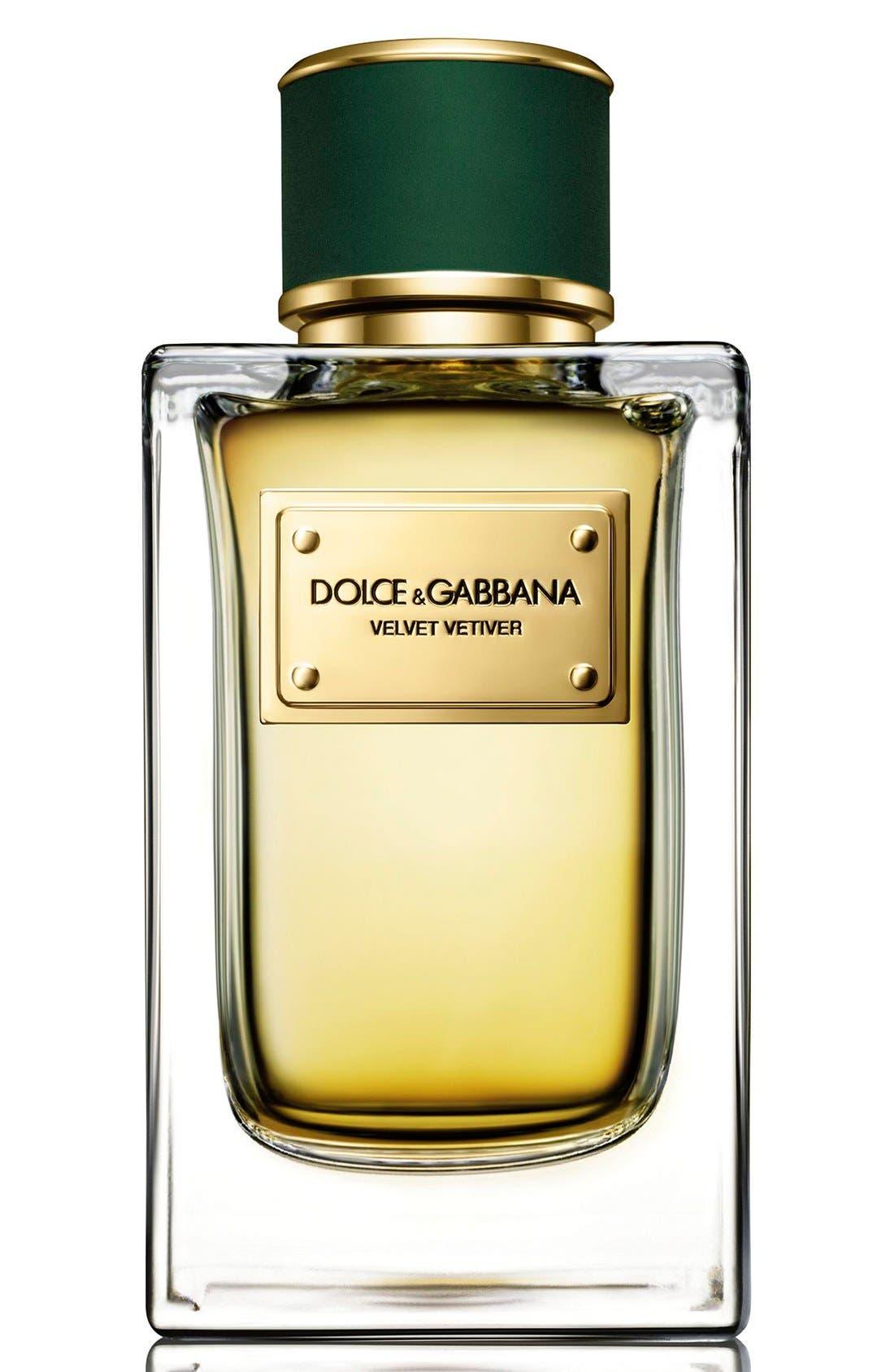 ,                             Dolce&GabbanaBeauty 'Velvet Vetiver' Eau de Parfum,                             Alternate thumbnail 2, color,                             NO COLOR