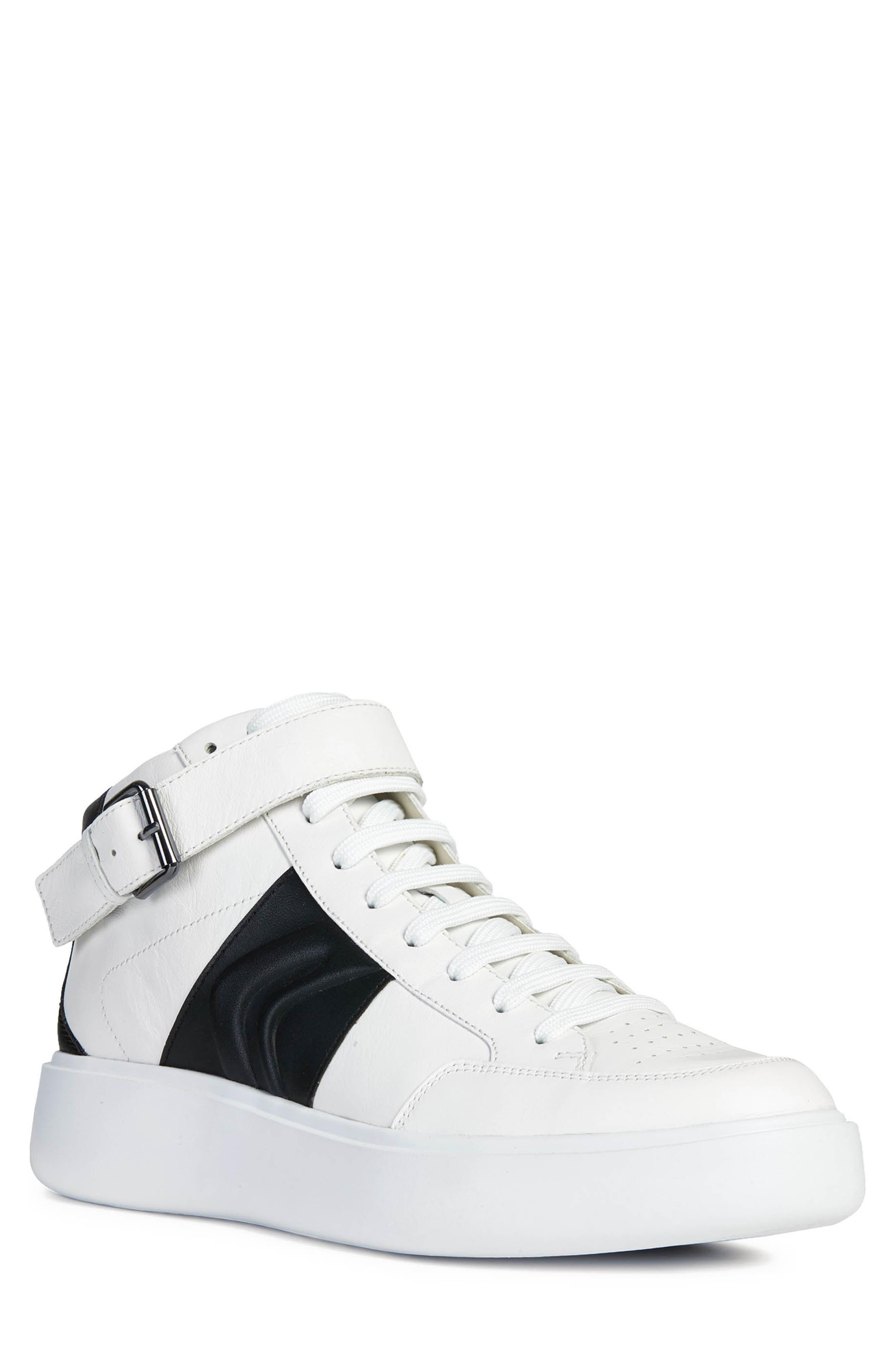 Geox Ottaya 2 High Top Sneaker, White