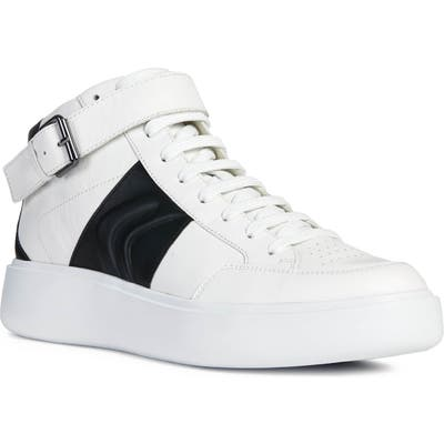 Geox Ottaya 2 High Top Sneaker, White