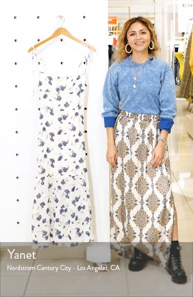 Emmie Floral Dress, sales video thumbnail