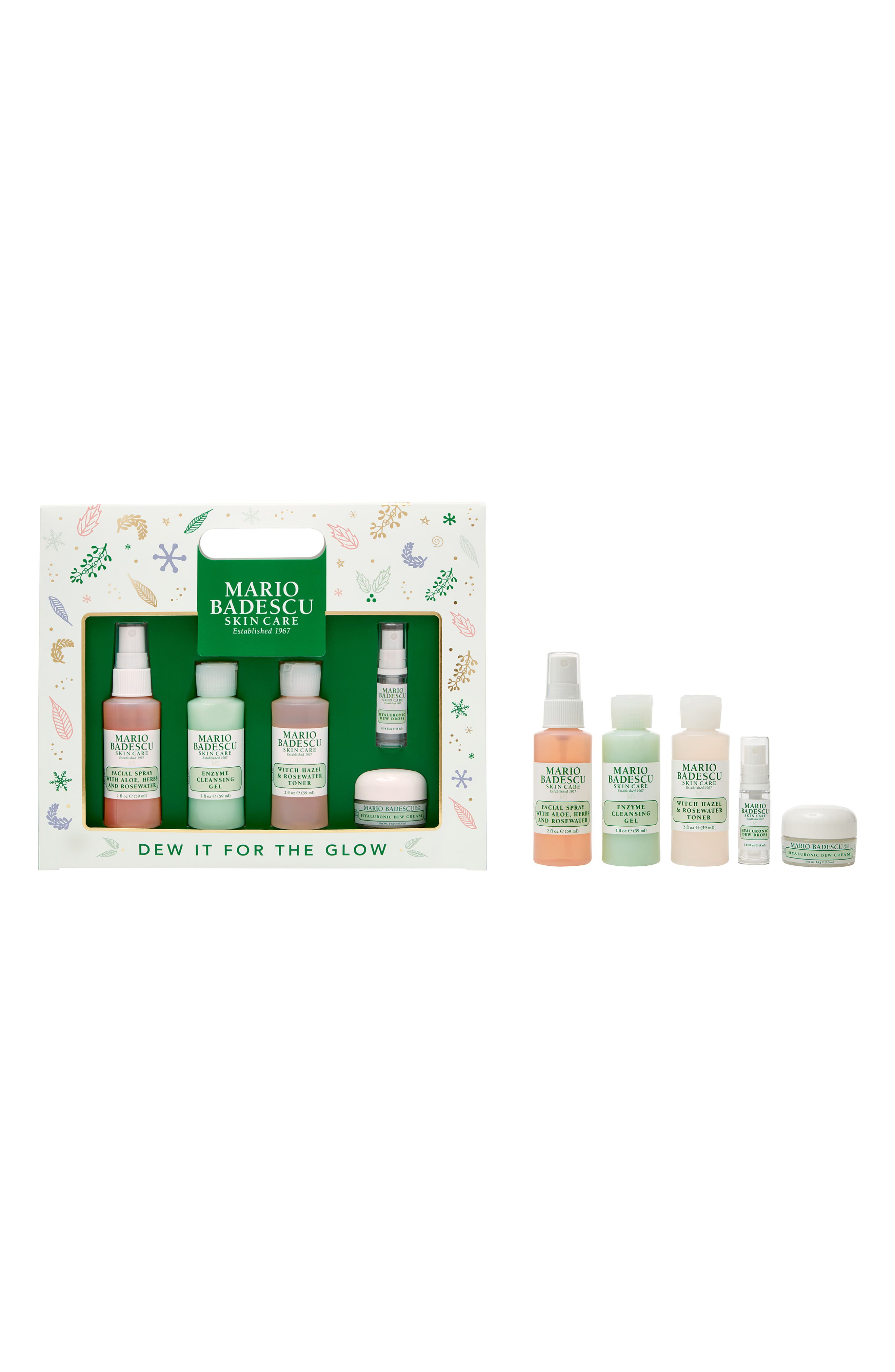 Mario Badescu Dew It for the Glow 5-Piece Skincare Set