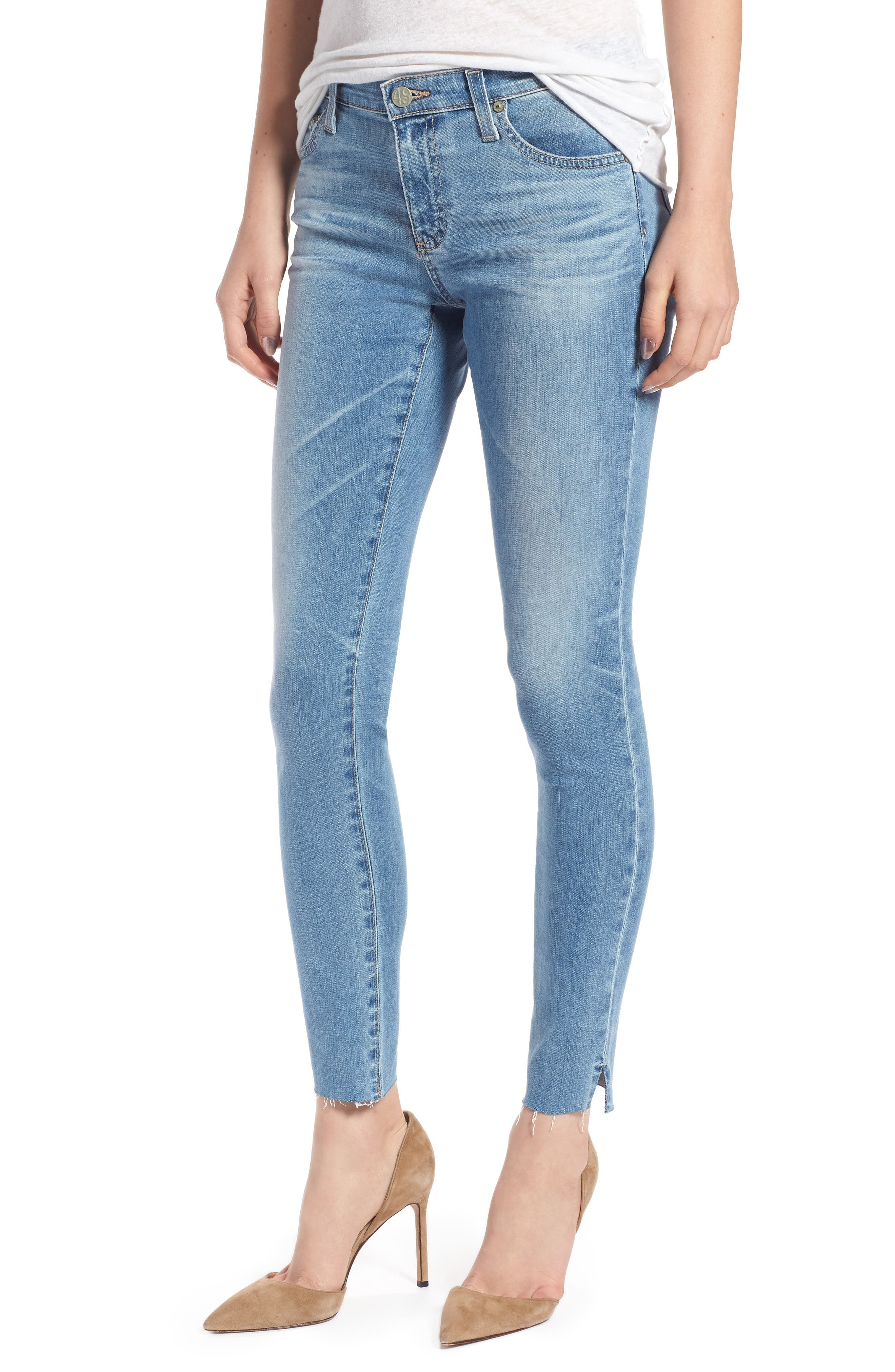 ,                             The Legging Ripped Ankle Skinny Jeans,                             Main thumbnail 8, color,                             427
