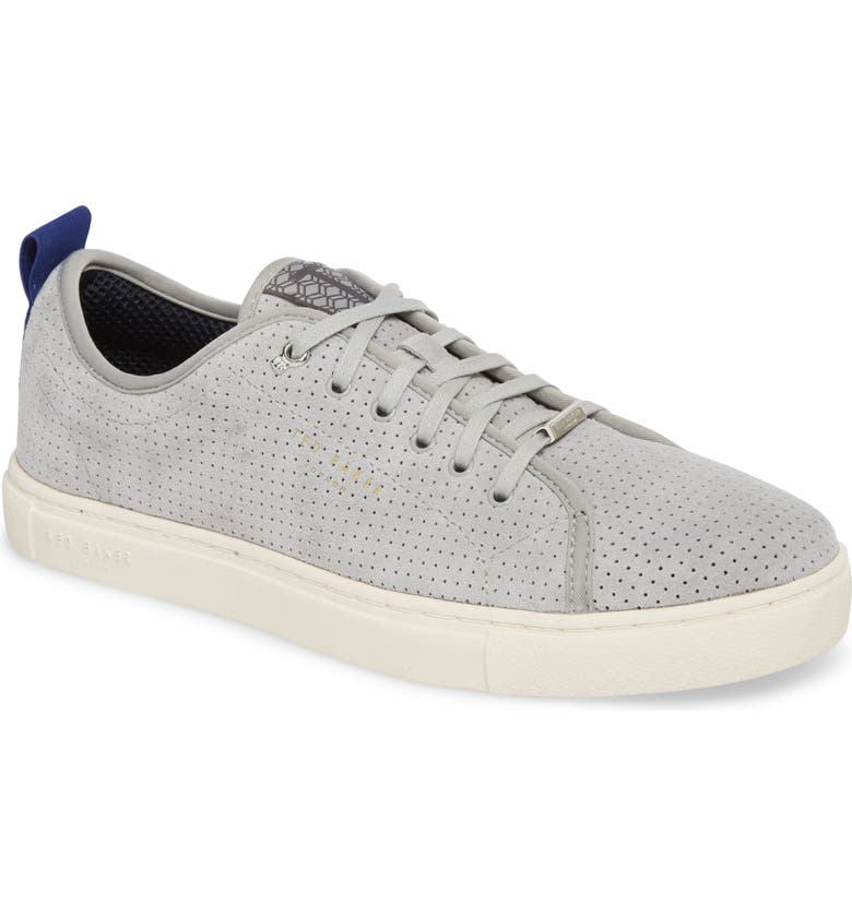 TED BAKER LONDON Kaliix Perforated Low Top Sneaker, Main, color, 070