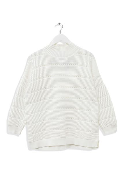 Image of French Connection Liliya Open Knit Pullover Sweater