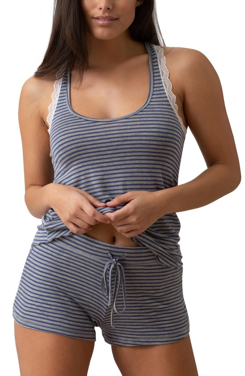 HONEYDEW INTIMATES All American Shortie Pajamas, Main, color, 460