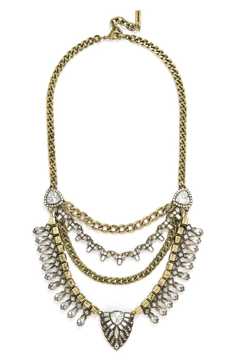 BAUBLEBAR 'Sphynx' Bib Necklace, Main, color, 710