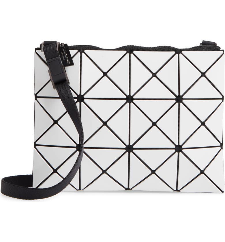 BAO BAO ISSEY MIYAKE Small Lucent Crossbody Bag, Main, color, WHITE