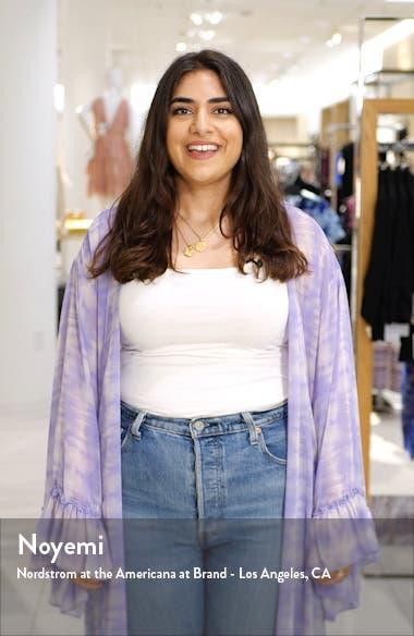Wild Young Spirit Denim Miniskirt, sales video thumbnail