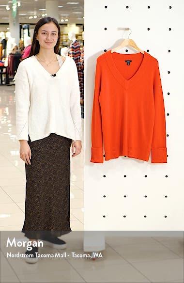 V-Neck Long Sleeve Sweater, sales video thumbnail