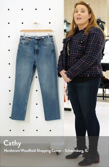 Raw Waist Straight Leg Jeans, sales video thumbnail