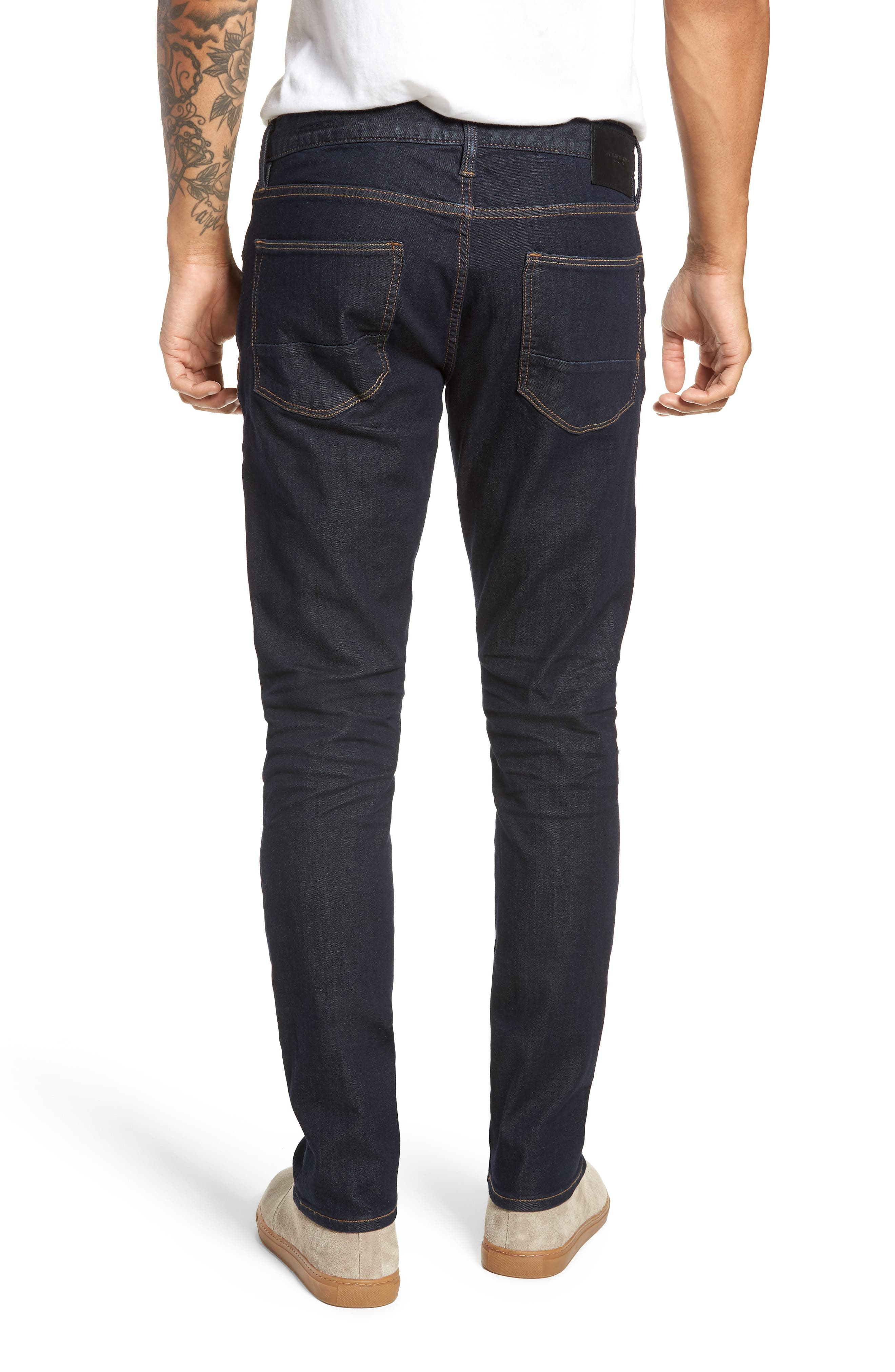,                             Ashdown Slim Straight Fit Jeans,                             Alternate thumbnail 2, color,                             INDIGO