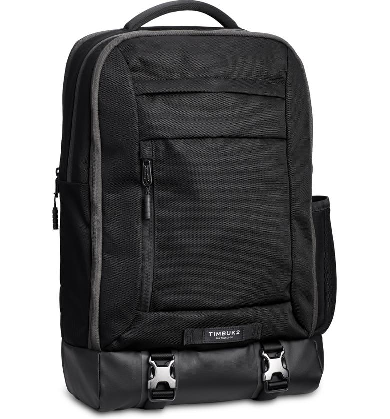TIMBUK2 Authority Deluxe Backpack, Main, color, JET BLACK