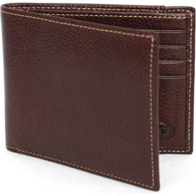 Torino Leather Billfold Wallet - Brown
