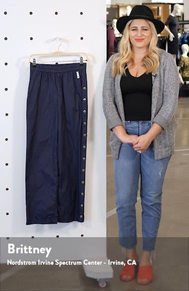 Side Snap Nylon Track Pants, sales video thumbnail