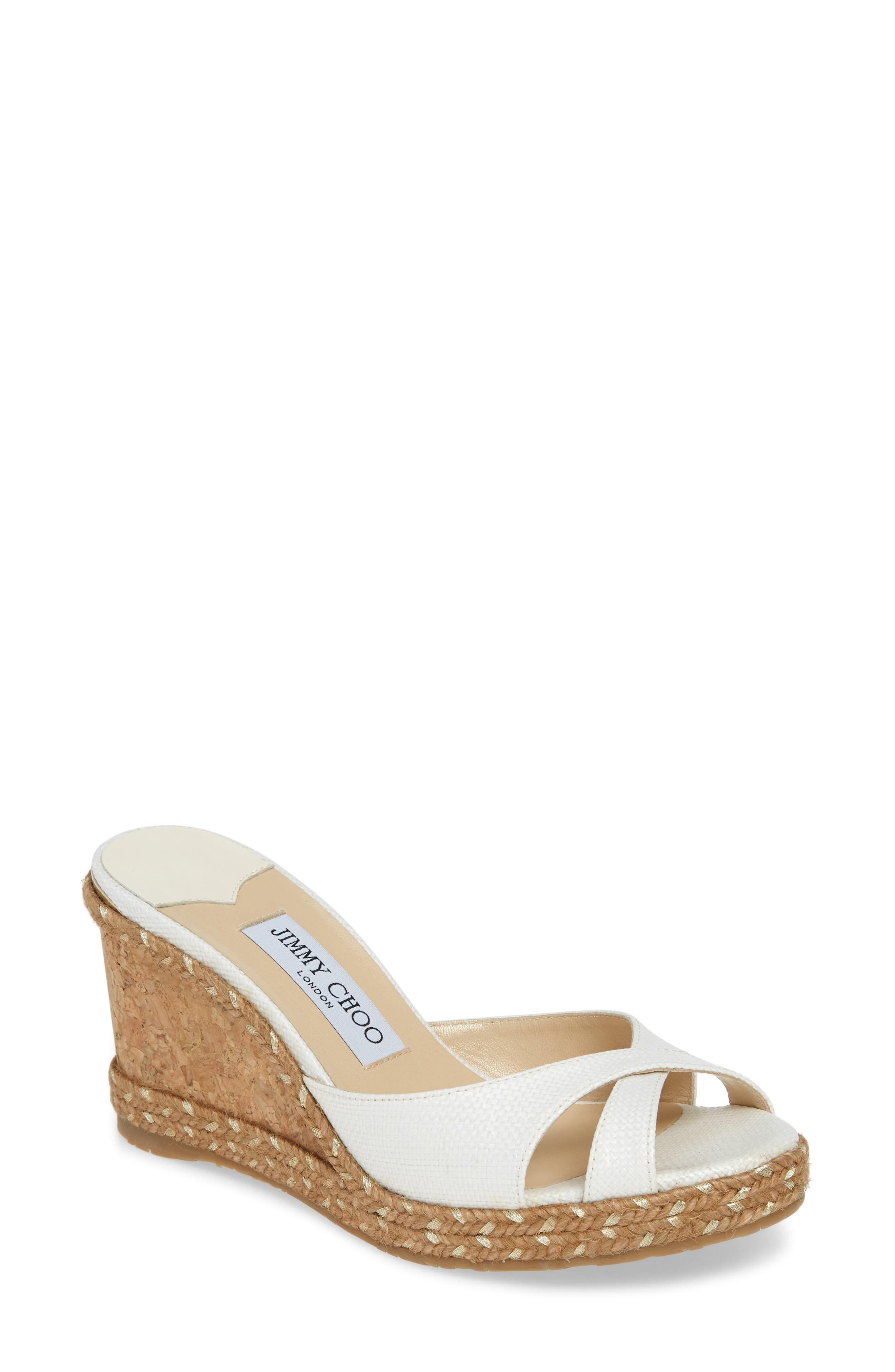 Jimmy Choo Slippers Almer Espadrille Wedge Sandal