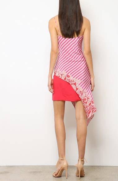 Asymmetrical Silk Minidress, video thumbnail