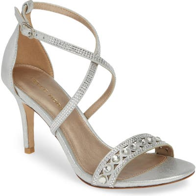 Pelle Moda Rory Crystal Embellished Sandal