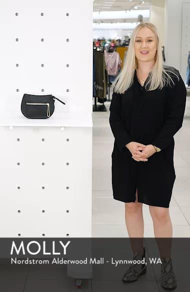 Trish Faux Leather Belt Bag, sales video thumbnail